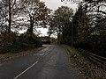 Bend in the road in Whelford - geograph.org.uk - 1592968.jpg