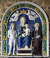 Benedetto Buglioni, Madonna col Bambino tra i santi Sebastiano e Antonio Abate.jpg