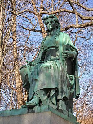 Ferdinand von Miller - Image: Benedict Monument by Ferdinand von Miller, Riverside Cemetery, Waterbury, CT January 2016