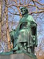 Benedict Monument by Ferdinand von Miller, Riverside Cemetery, Waterbury, CT - January 2016.JPG