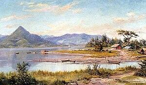 Benedito Calixto - Baía de São Vicente