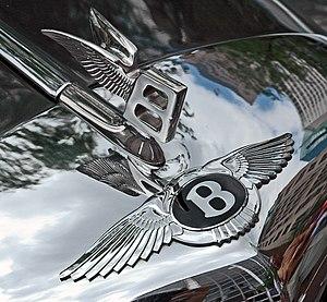 """Bentley - Bentley winged """"B"""" badge bonnet (hood) ornament"""