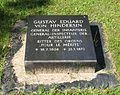 Berlin, Mitte, Invalidenfriedhof, Feld D, Grab Gustav Eduard von Hindersin, Restitutionsstein.jpg