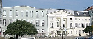 Deutsches Theater (Berlin) - Theatres in Schumannstraße: Kammerspiele (left) and Deutsches Theater (right)