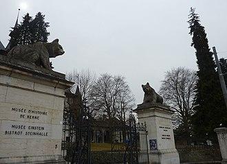 Bern Historical Museum - Bern Historical Museum entrance gates