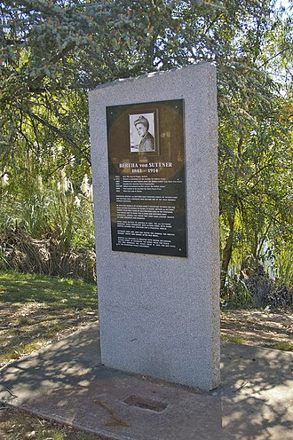 Lutheran Church of Australia - Australian monument honouring Austro-German pacifist Bertha von Suttner.