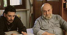 Enrico Beruschi e Davide Tafuni alias Dado Martino in una scena del film I Wanna be the testimonial