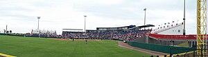 Space Coast Stadium - Image: Best reverse panorama Nationals