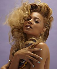 Beyoncé as photographed by Tony Duran in 2011