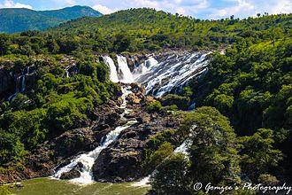 Shivanasamudra Falls - Shivanasamudra in Autumn