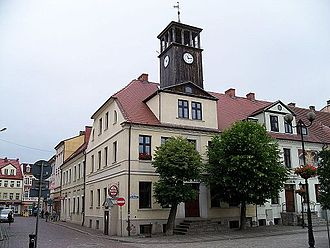 Białogard - Preserved town hall dating back hundreds of years