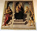 Biagio di Antonio, Madonna tra i Santi, Gambassi terme.jpg