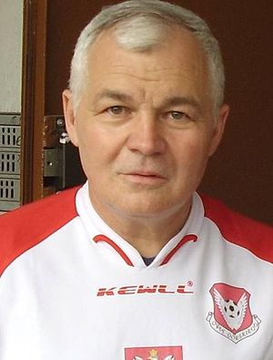 Jan Krzysztof Bielecki - Bielecki in 2007 wearing the jersey of the Polish national football team.
