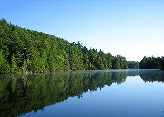 Bigelow Pond in Union, Connecticut