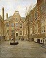 Binnenplaats van het Oost Indisch Huis te Amsterdam Rijksmuseum Amsterdam SK-C-1576.jpg