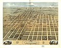 Bird's eye view of the city of Champaign, Champaign County, Illinois 1869. LOC 73693348.jpg