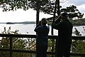 Bird watchers at Great Bay National Wildlife refuge, Newington, NH. (4150313566).jpg