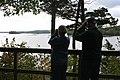 Bird watchers at Great Bay National Wildlife refuge, Newington, NH. (4150313566).jpg