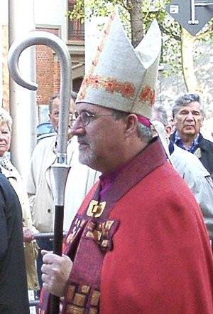 Roman Catholic Diocese of Rottenburg-Stuttgart - Bishop Gebhard Fürst 2004 in Stuttgart-Bad Cannstatt
