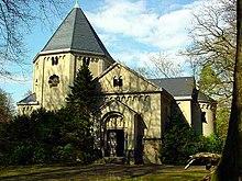 Le mausolée de Bismarck à Friedrichsruh qui ressemble fortement à une église