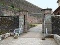 Bitsch, Zitadelle, Zugbrücke v außen, 1.jpeg