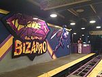 Bizarro station (Six Flags New England).JPG