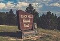 Black Hills National Forest Sign, South Dakota (34480291180).jpg