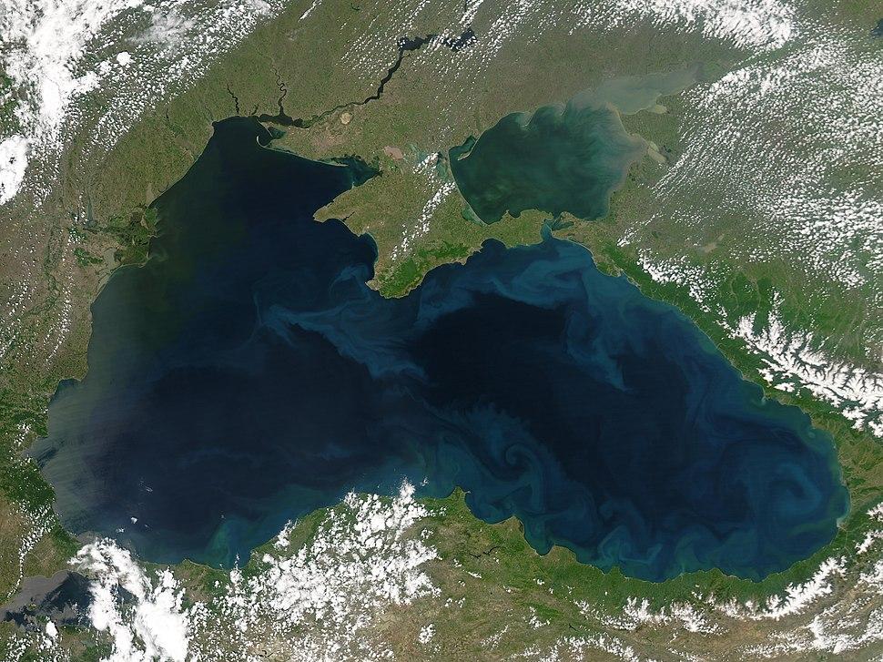 Black Sea Nasa May 25 2004