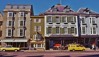 Blackwell UK - The main store in Oxford in 1977
