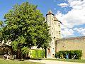 Blandy (77), château, tour des Archives 8.JPG