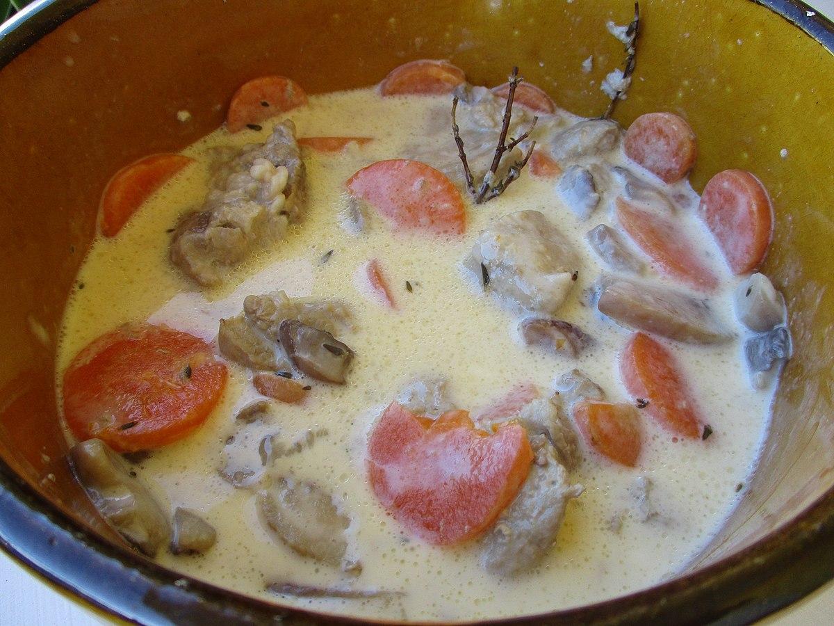 blanquette de veau — wikipédia