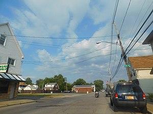 Lake Avenue in Blasdell