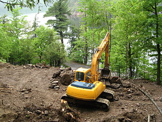 Gatineau Park - NCC allows shoreline construction at Meech Lake, 2008