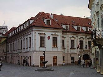 Keglevich Palace - Image: Blava 2007 3 28 57