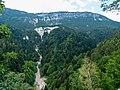 Blick von Sankt Jakob zum Schönegg, Grissian, Jakobsweg zwischen Meran und Bozen, Trentino, Südtirol, Italien - panoramio.jpg