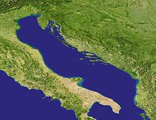 Il mar Adriatico