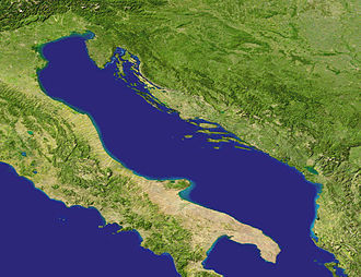 Adriatic Sea (excerpt from NASA's Blue Marble map)