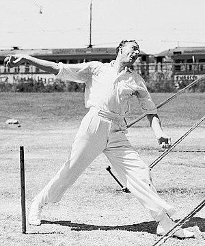 Bob Appleyard - Appleyard in 1954