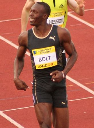 Usain Bolt - Bolt at the Crystal Palace Meeting in 2007