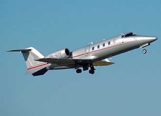 Learjet 60 - A VistaJet Learjet 60 on take-off