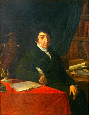 Franco Andrea Bonelli - Franco Andrea Bonelli by Giovanni Battista Biscarra