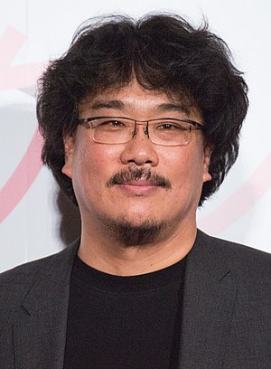 Bong Joon-ho garnered widespread critical acclaim for his direction and was awarded the Academy Award for Best Director in 2020. Bong Joon-ho 2017.jpg