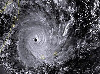 1995–96 South-West Indian Ocean cyclone season - Image: Bonita 1996