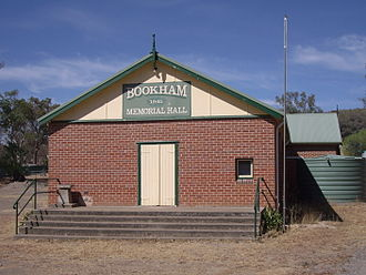Bookham, New South Wales - Image: Bookham Memorial Hall