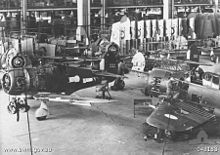 Boomerang fighters under construction at Commonwealth Aircraft Corporation's Fisherman's Bend factory Boomerang construction (AWM 043183).jpg