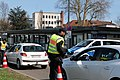 Border control checkpoint at Europe bridge German side 2020-03-16 16.jpg