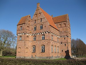 Borreby Castle - Main building