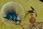 Bosch, Hieronymus - The Garden of Earthly Delights, central panel - Detail porcupine.jpg