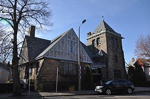 Charles Street African Methodist Episcopal Church - Image: Boston MA Charles Street AME Church