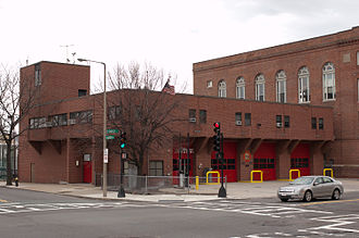 Boston Fire Department - Quarters of Engine 14, Ladder 4, and H1(Safety District Chief) in Roxbury.
